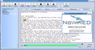 NoWinED on MorphOS 2